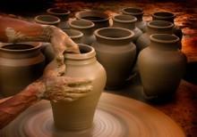vasos de barro 3