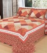 cobre leito colorido