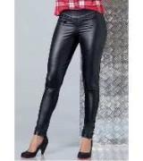 calca de couro feminina