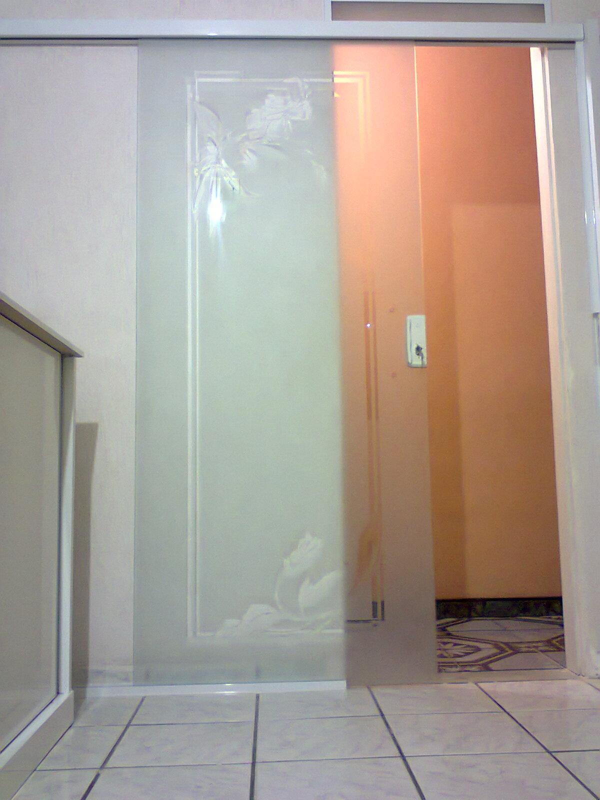 Porta de correr de vidro saiba onde pode colocar Revista das  #945537 1200 1600