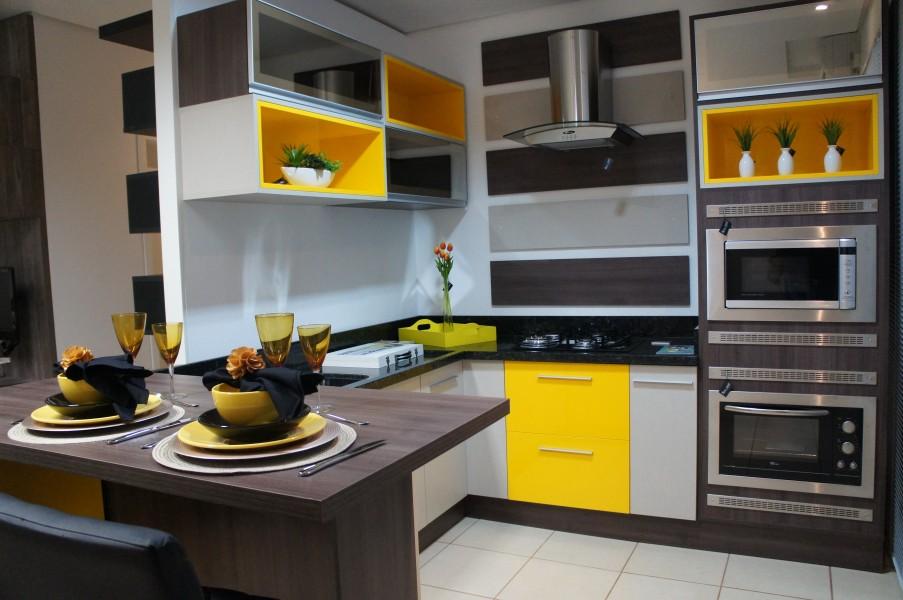 cozinha colorida planejada 1