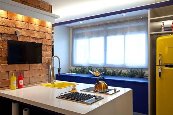 cozinha colorida planejada 2