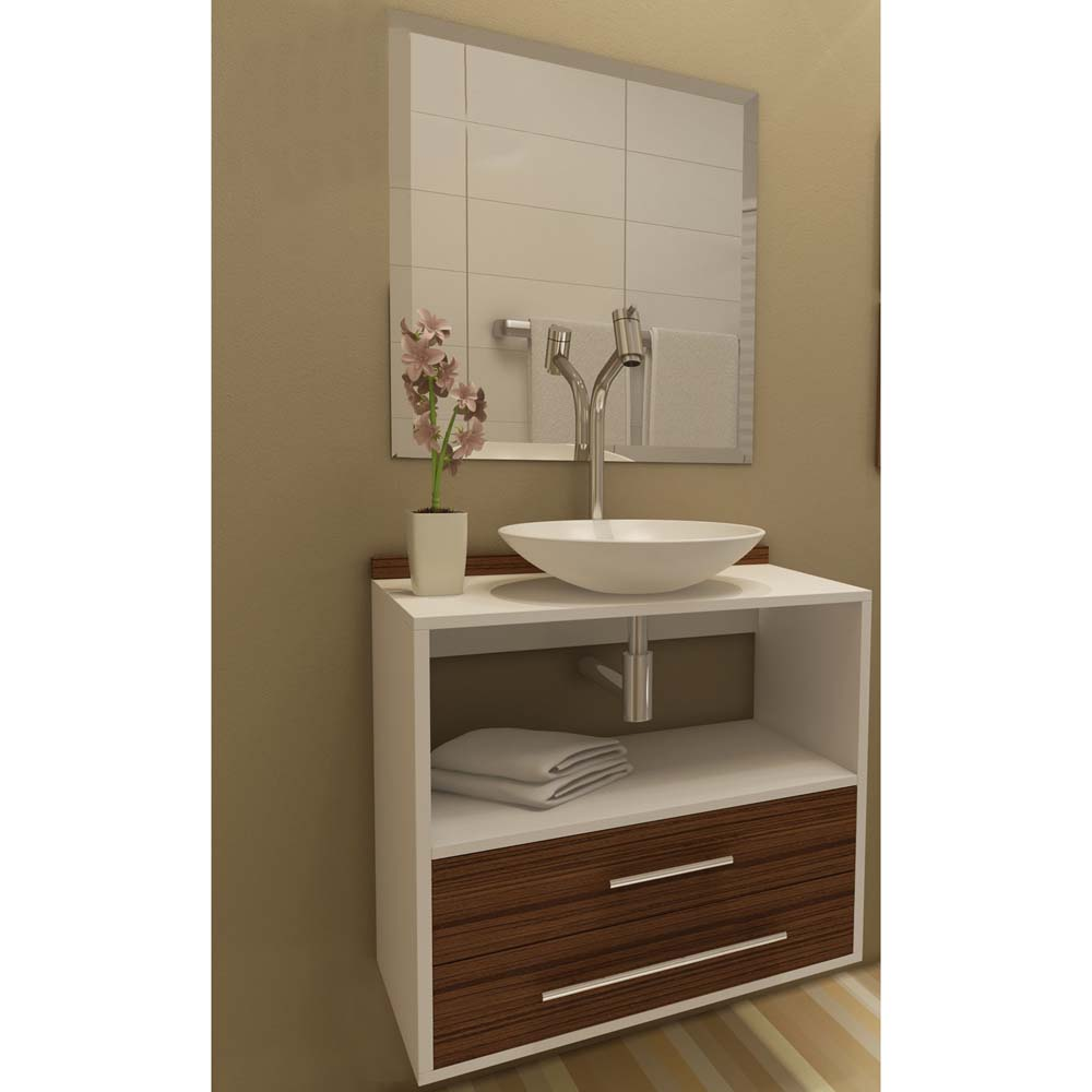 Gabinete para banheiro  dicas e fotos de modelos  Revista das dicasRevist -> Armario Banheiro Encaixe Coluna Pia