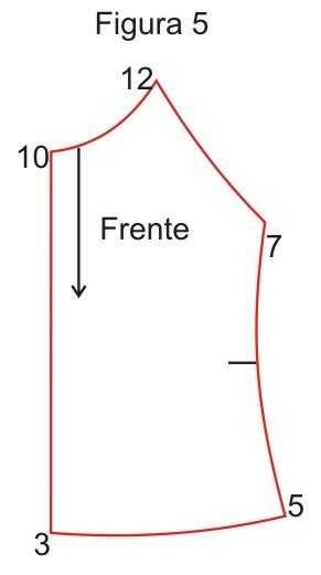 molde blusa de modelo cigana facil