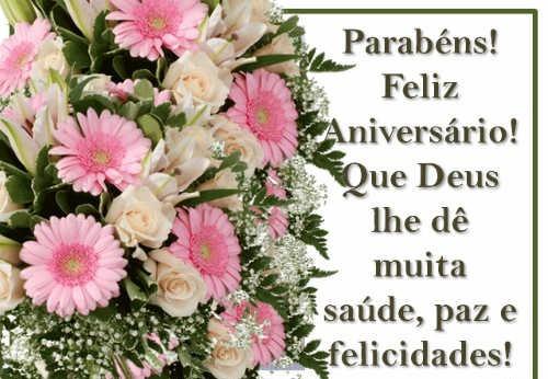 mensagem gospel com flores