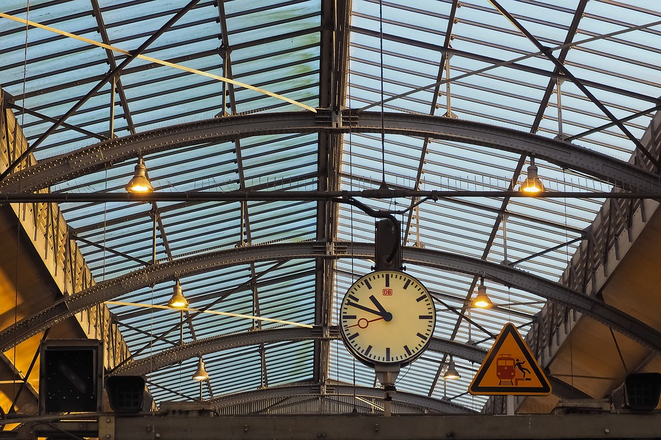 telhado de vidro alto