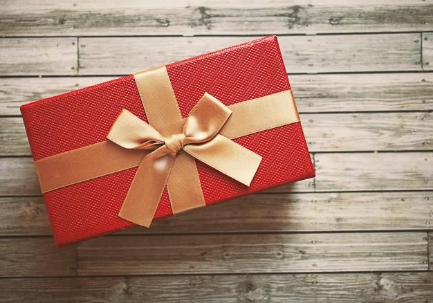 caixa de presente linda