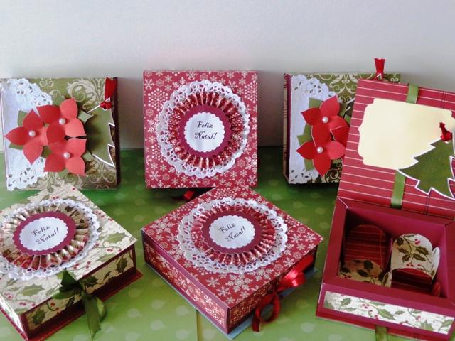 caixa decorada para presente modelos