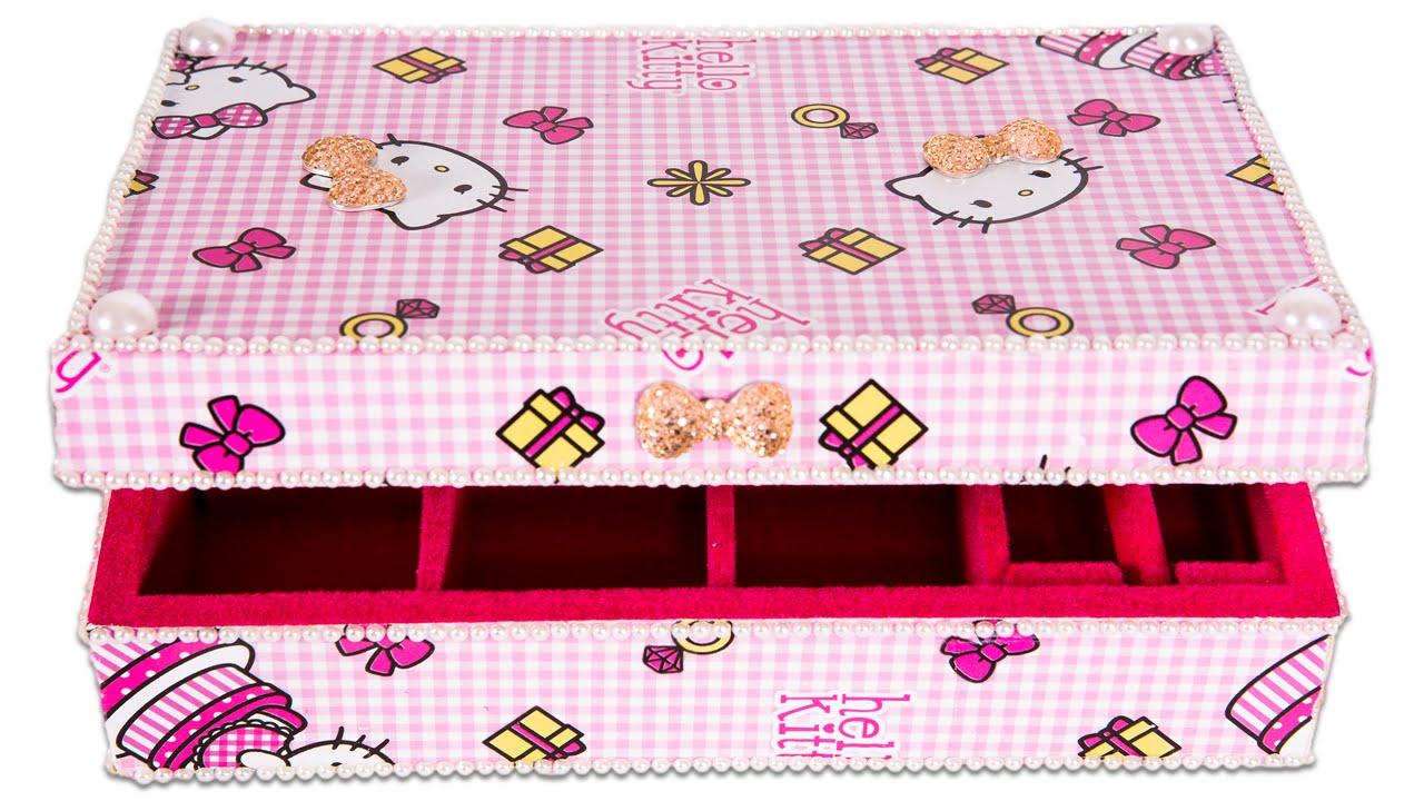 caixa decorada para presente