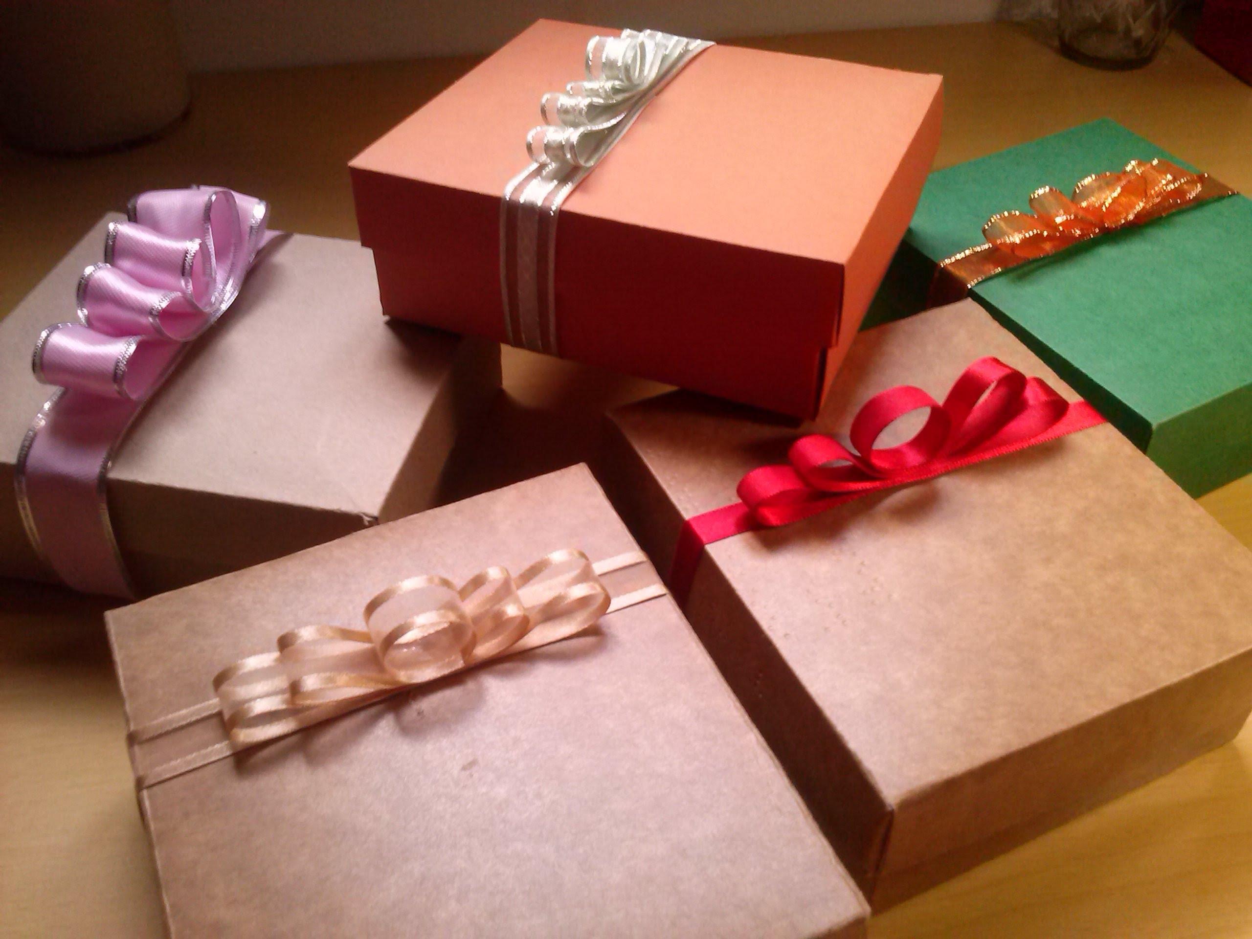 caixa para presente classica