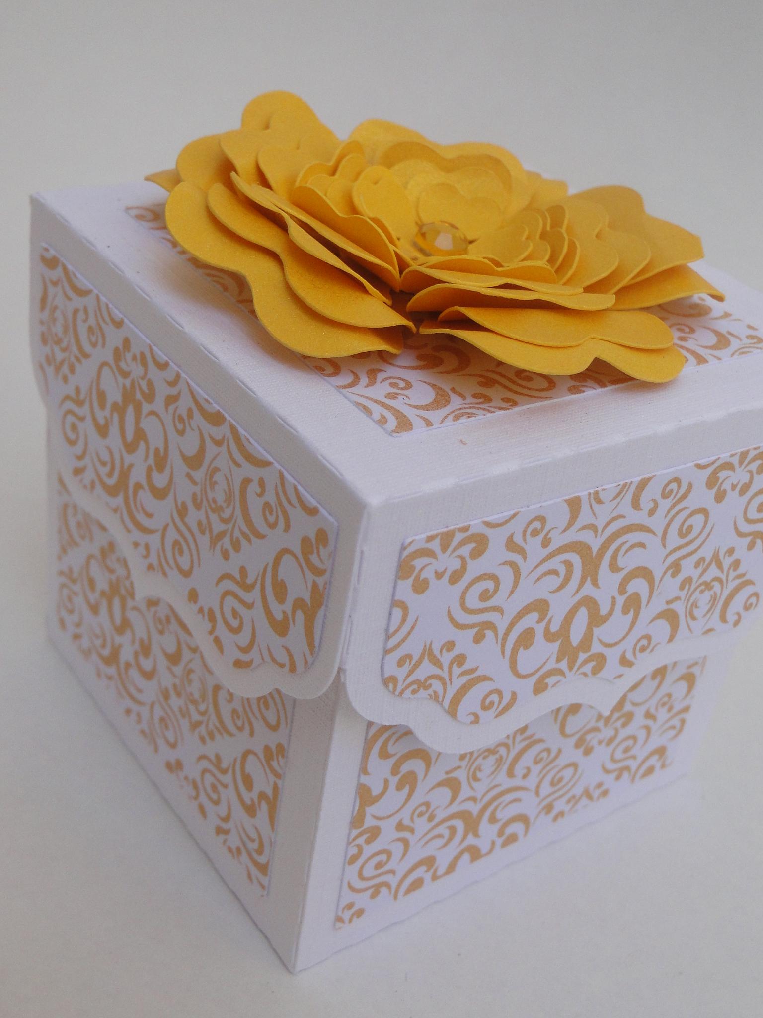 caixa para presente delicada