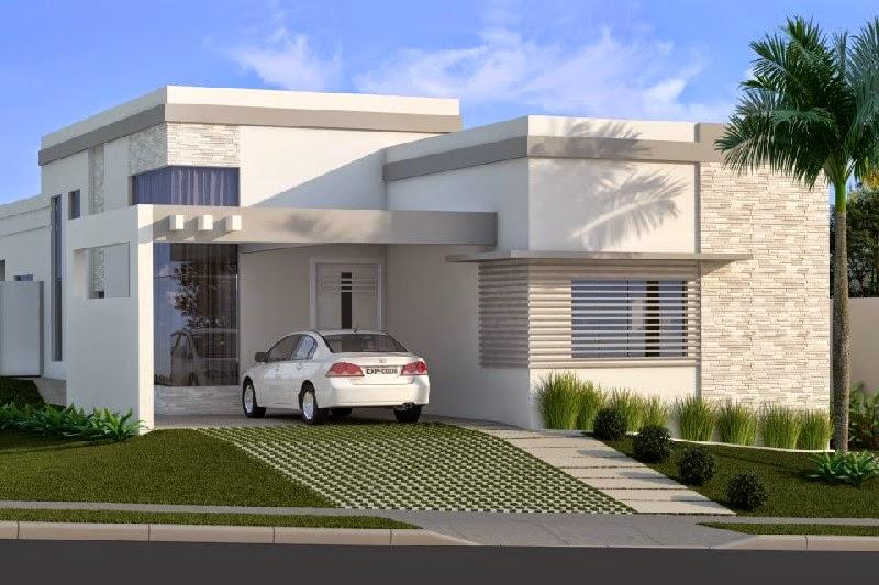 fachadas modernas de casas imagem 10