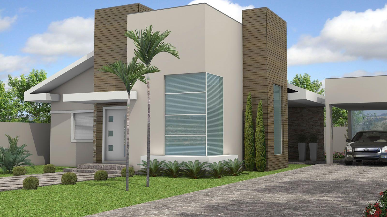 fachadas modernas de casas imagem 12