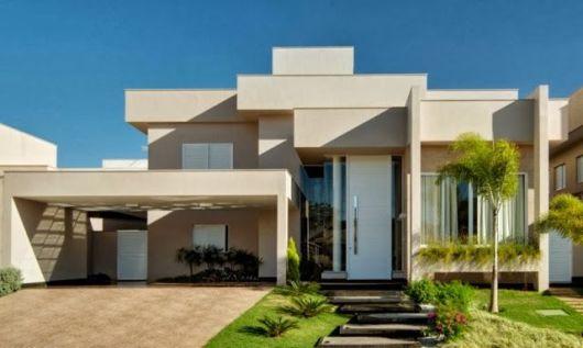 fachadas modernas de casas imagem 2