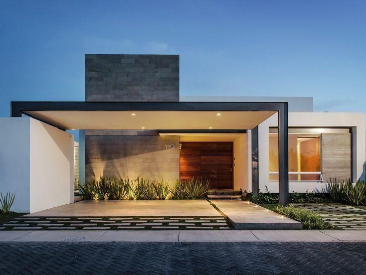 fachadas modernas de casas imagem 3