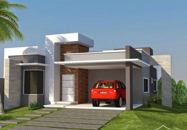 fachadas modernas de casas imagem 5