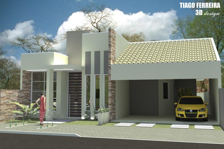 fachadas modernas de casas imagem 9