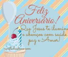 mensagem de aniversario crista